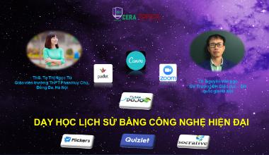 Học dạy học lịch sử bằng công nghệ hiện đại online   Edumall Việt Nam