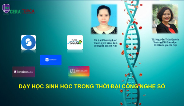 Học dạy sinh học trong thời kì chuyển đổi số online | Edumall Việt Nam